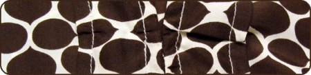 Close up of brown pattern