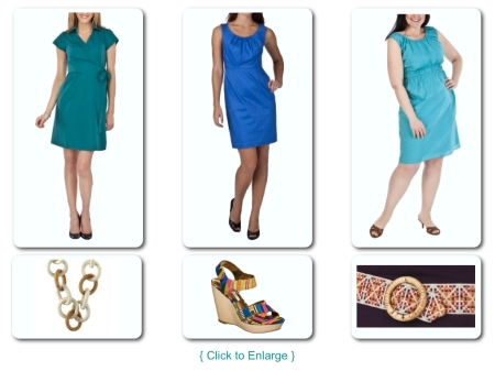 Three Dresses + Accessories
