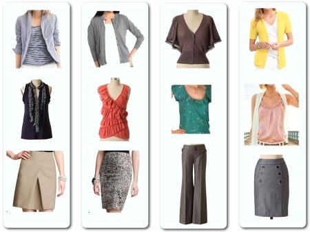 Client A - Outfits, Set 1