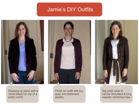 Jamie's DIY Outfits